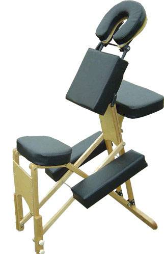 Natural wooden massage chair MCW-001