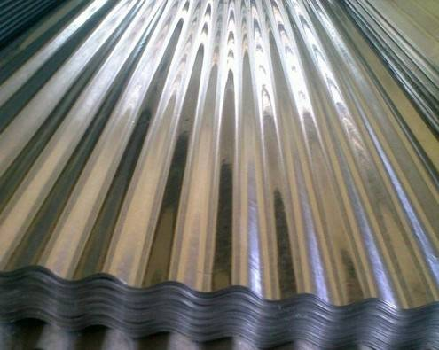 Corrugated Galvanzied Steel Plate, Roofing Sheets