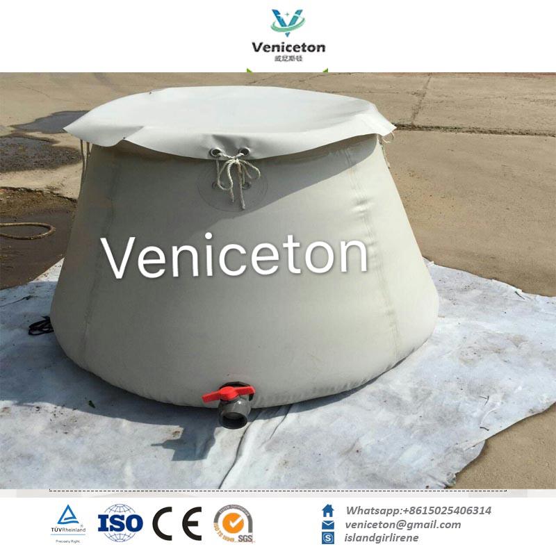 Veniceton Collapsible onion shape rainwater storage tank