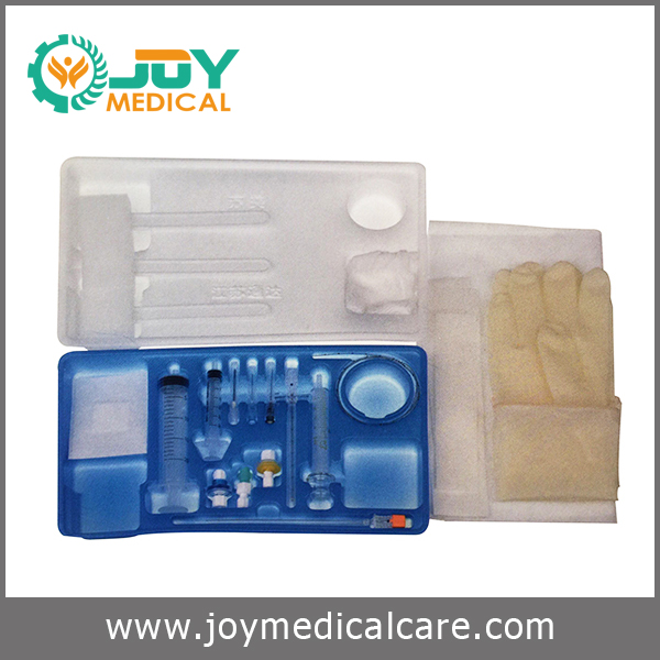 Disposable anesthesia puncture set