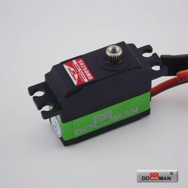 DM-S0250MD 25g metal gear coreless digital tail servo