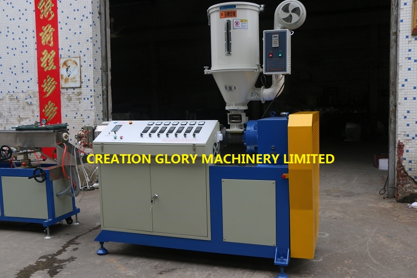 High capacity PA nylon pipe plastic extrusion production machinery