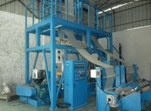 ABA three-layer co-extrusion two die film blowing machine
