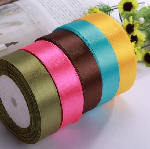 birthday gift packing ribbon of different colour