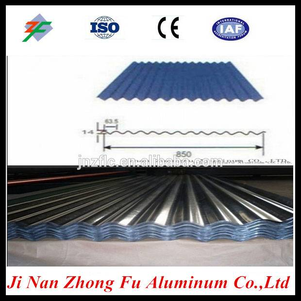 Customized aluminum sheets for corrugated aluminum roofing sheets