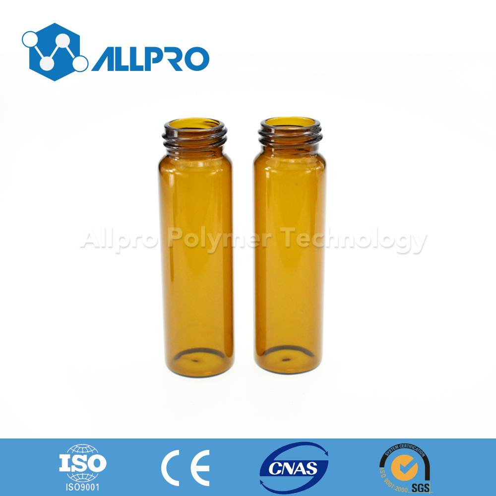 24-400 40ml amber storage vial