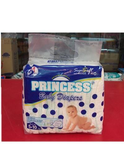 Princess baby diaper