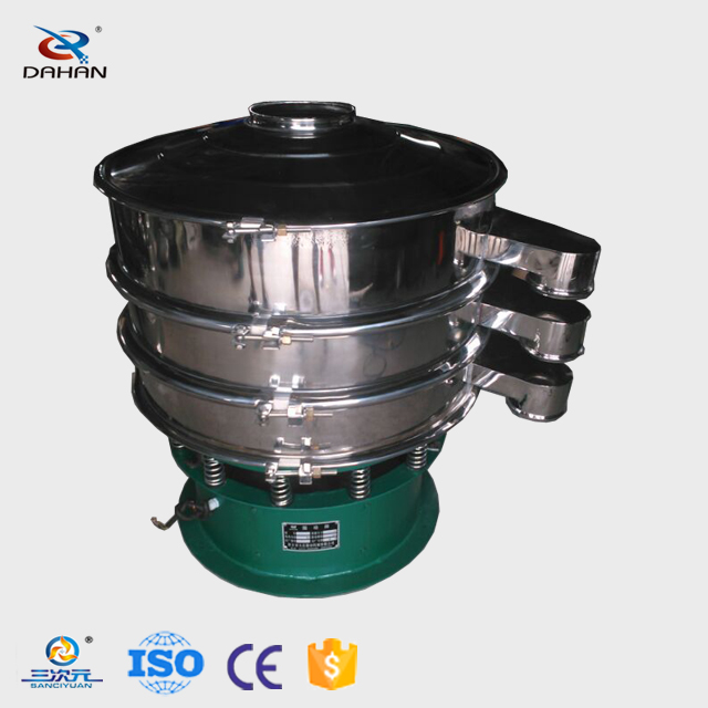 supply food standards powder vibrating screen machine for sieving
