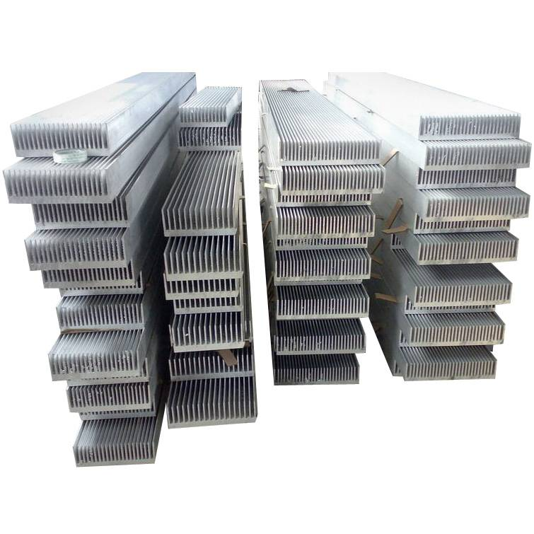 copper or aluminium heat sink extrusion profiles