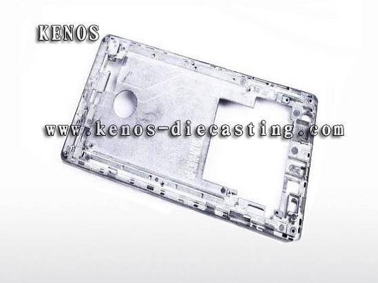 Tablet computer parts China die casting manufacturer