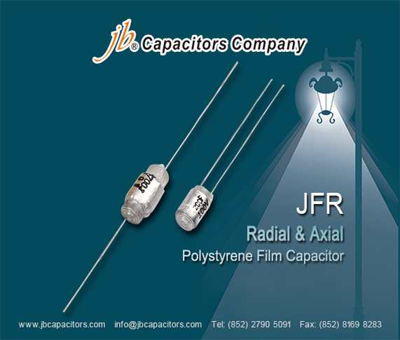 JFR - Radial & Axial Polystyrene Film Capacitor