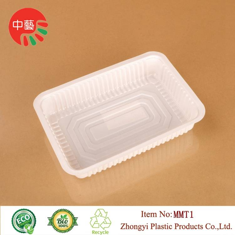food grade plastic disposable blister deli food tray