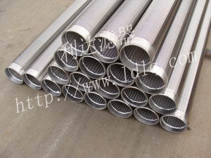 Wedge Johnson wire screens for water drilling