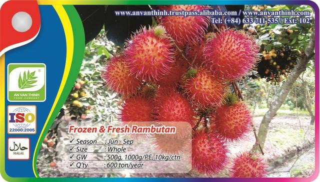Frozen Rambutan