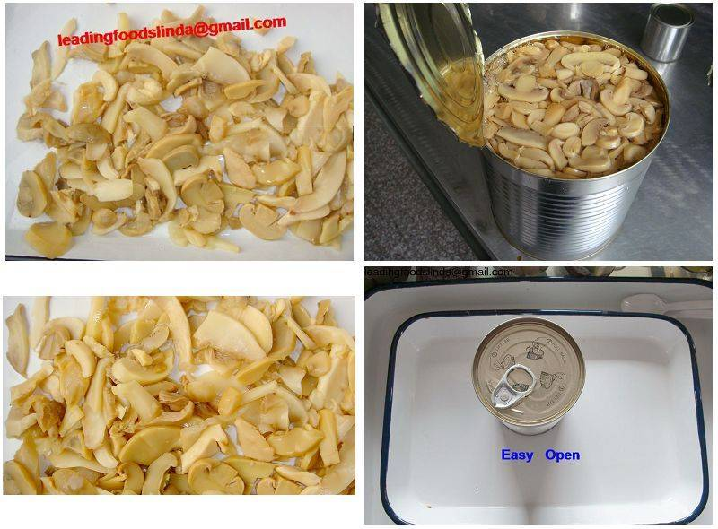 canned mushroom pieces & stems