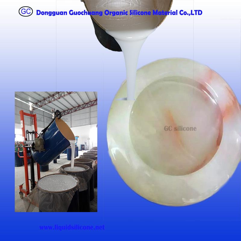good price rtv2 molding silicone rubber for polystone statue