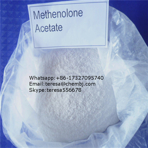 CAS 434-05-9 Methenolone Acetate Raw Material Steroid for Muscle Gain