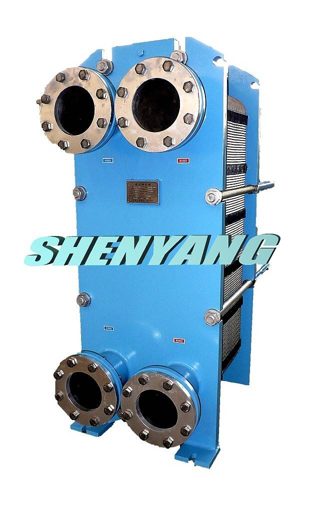 Gasketed plate frame heat exchanger