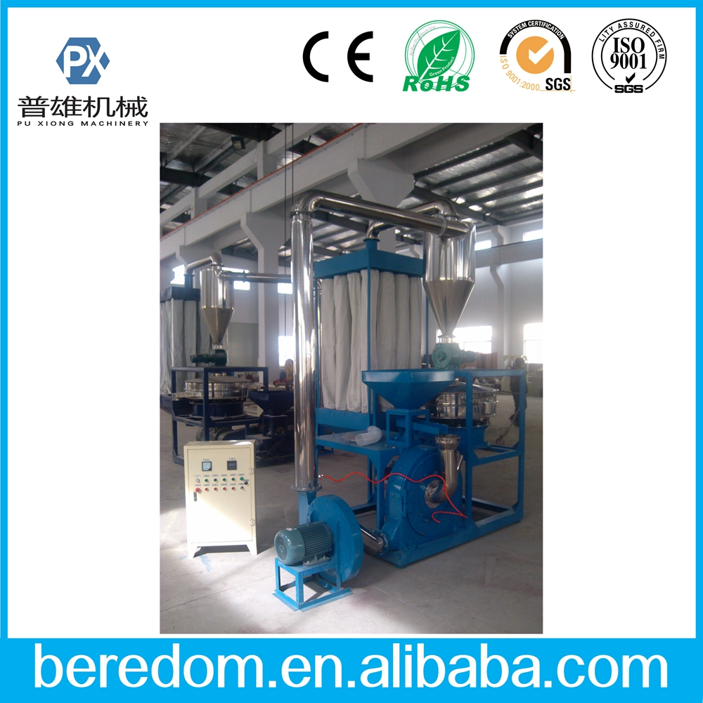 Plastic pulverizer/grinding machine