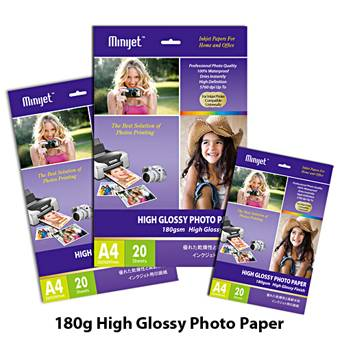 180gsm high glossy photo paper & inkjet paper (A4* 20), professional manufacturer