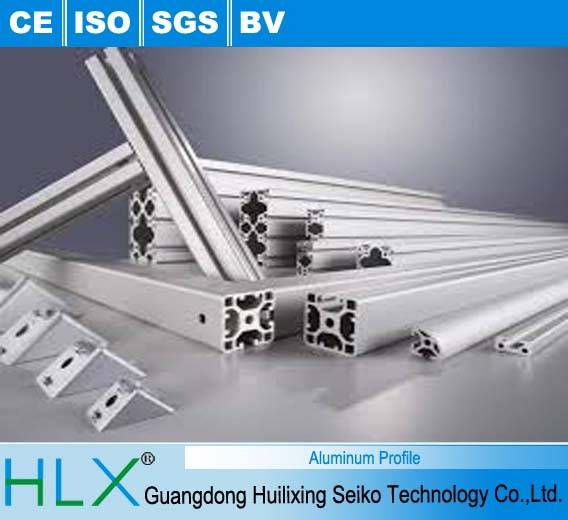 aluminum profile for assembly line, frame, guide rail