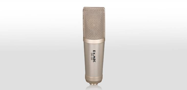 DR.MIC Large Diaphragm Recording Condenser Microphone DR-100