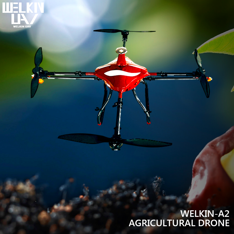 WELKIN-A2 Quadrocopter Pesticide Sprayer Agriculture Drone