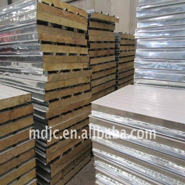 Colored metal steel sheet sandwich panel