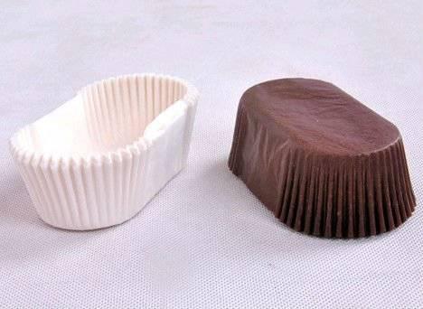 Chocolate Color Glassine Paper