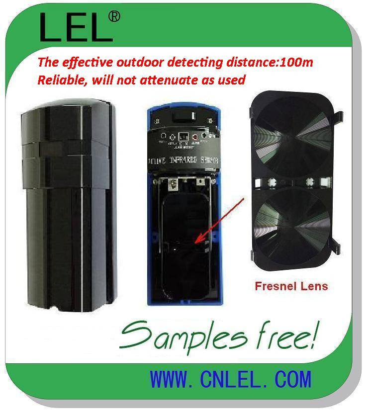 LBD-100  Long Range Outdoor Waterproof CE Approved Digital Active Infrared Beam Detector