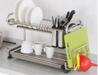 Multifunctional dishes racks