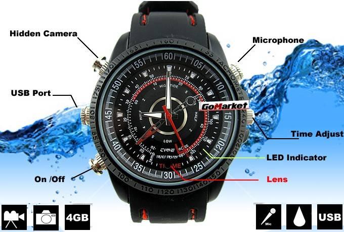mini watch camera