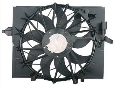 For E60 Electric Motor Radiator Cooling Fan