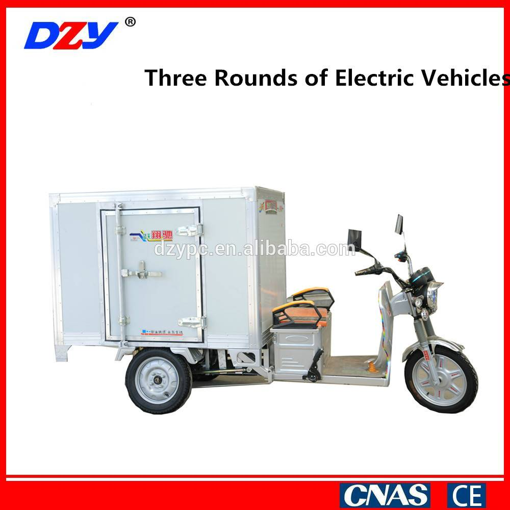 Widely used three-wheeled electric vehicle