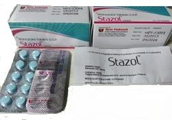 Stazol tablets - Stanozolol 10mg