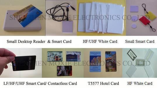 Temic T5577/T5567/T5557 Smart Hotel Card, 125KHz Key Card
