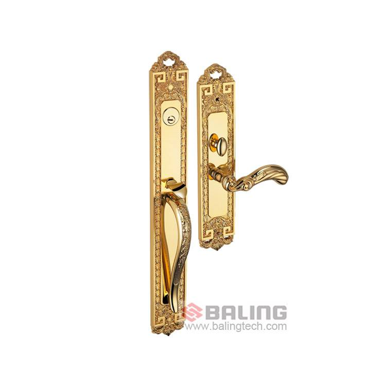 Brass Door Lock Mortise Lock High Security Residential Door Lock Project