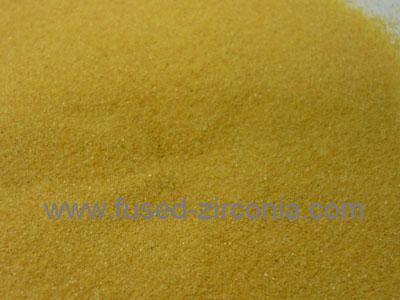Monoclinic zirconia powder