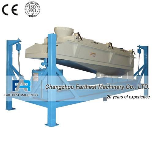 Rotary Screener Capable of Sifting and Classifying of Pellet Feed
