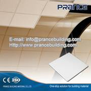 Decorative perforated metal ceiling tiles