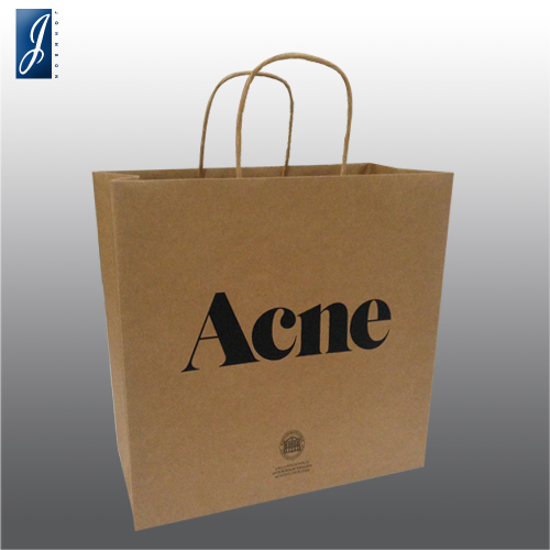 Customized small  shopping bag for ACNE