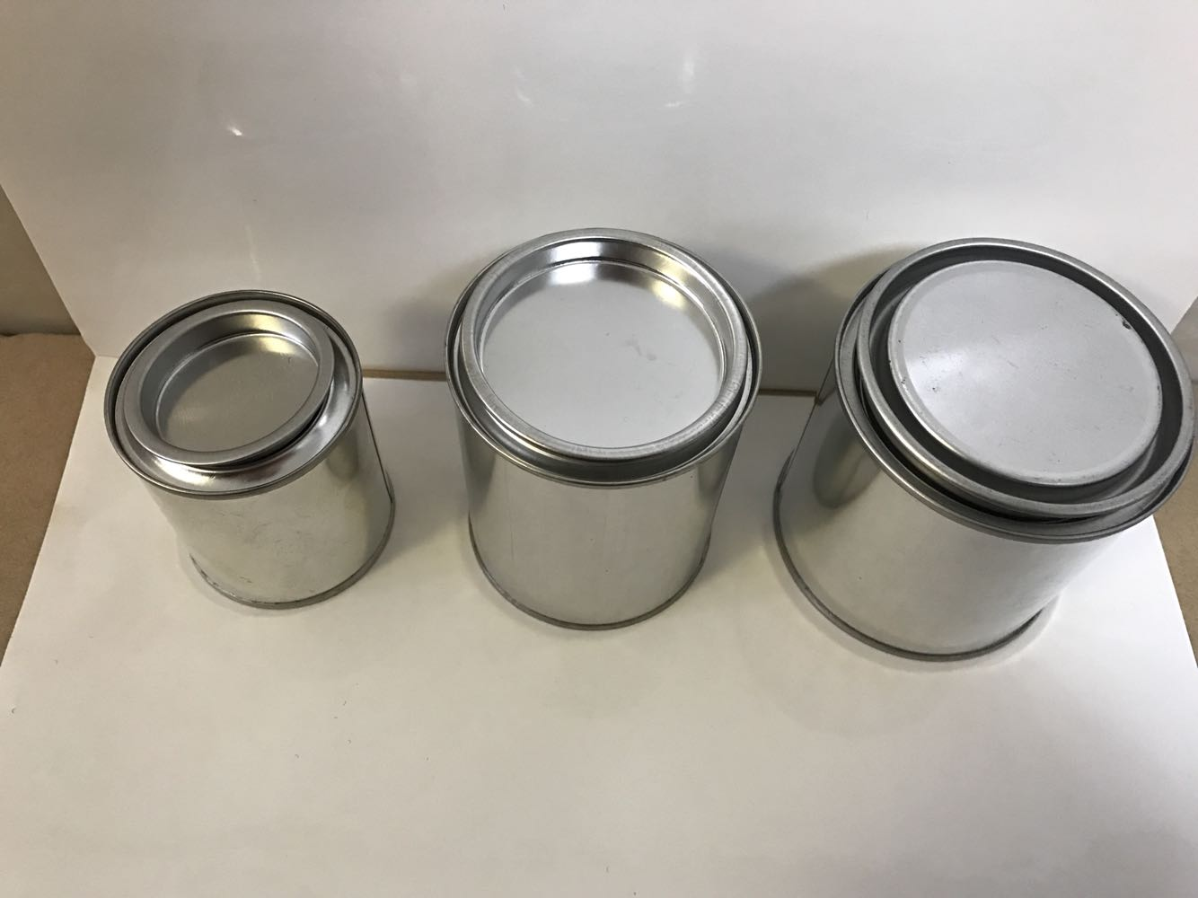 sample cans, metal can for samples