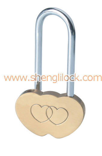 BRASS TRAVEL PADLOCK