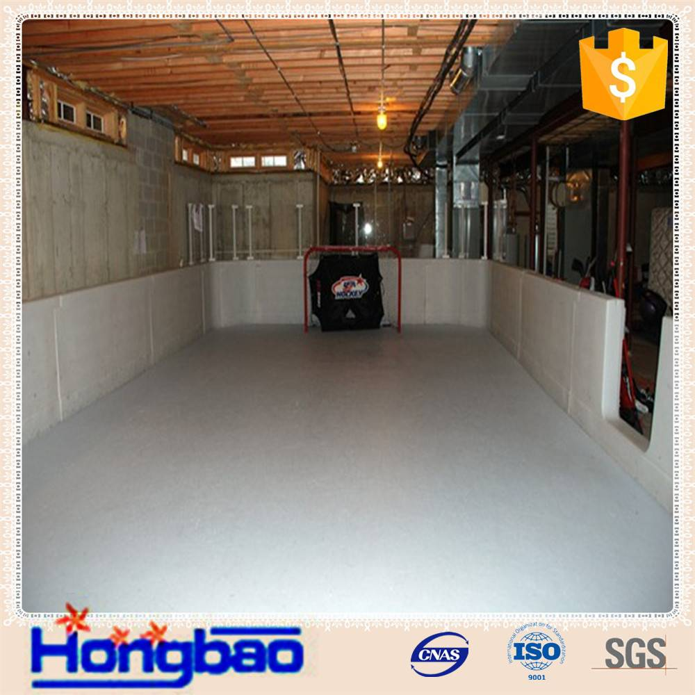 hot sale Uhmwpe/hdpe synthetic ice rink with anti-abrasion Special polyethylene plastic pad