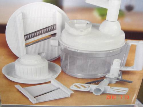 Electric Multi-function White Food Processor 657