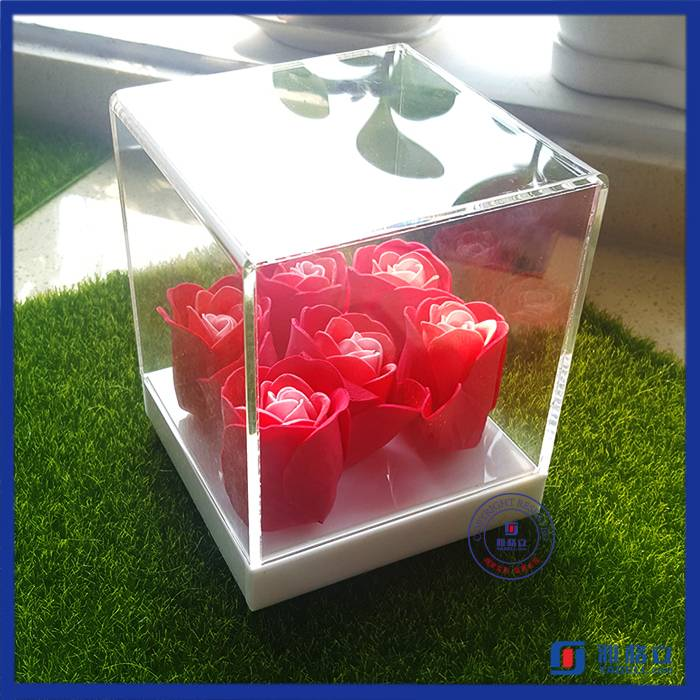 Customized acrylic vase & flower vase stand