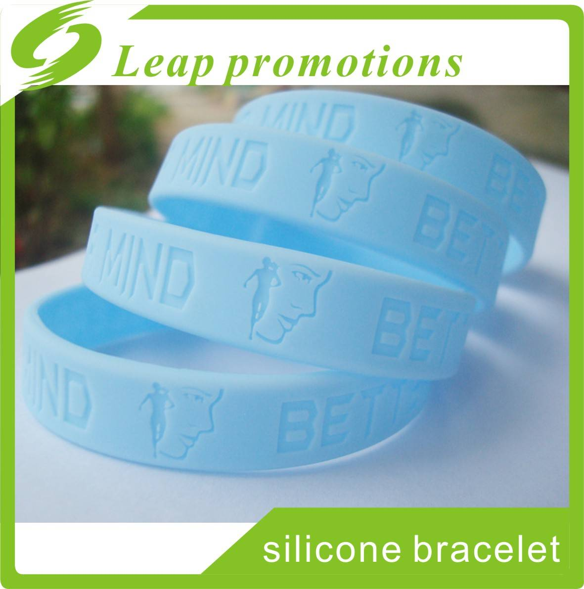 Custom Logo size design cheap bracelet promotional items Custom silicone wristband best selling