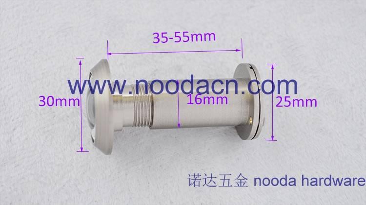 16mm Door Viewer for Security Doors Brass Material