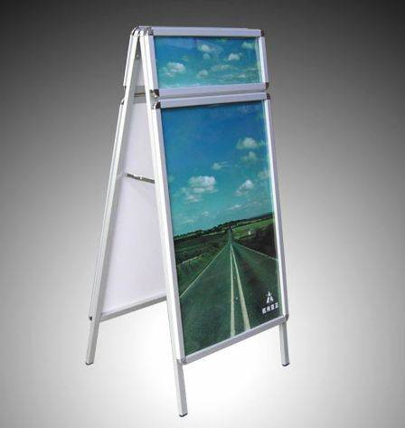 Advertising poster stand