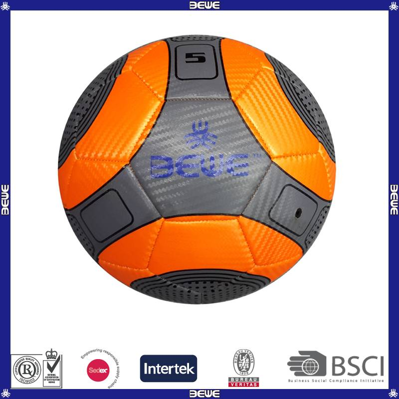 Wholesale promotional PVC stripe soccer ball